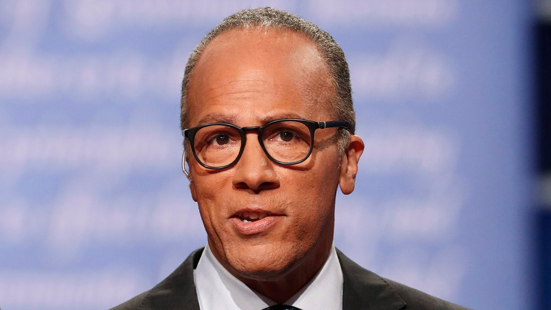 "Critics often point to Lester Holt's widely panned performance moderating a presidential debate for the decline in ""Nightly News."""