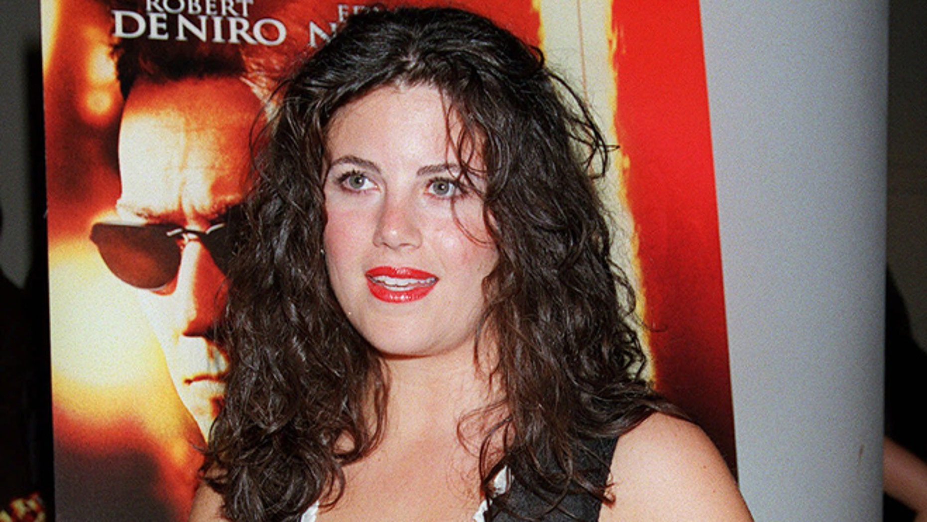"""FILE: Monica Lewinsky arrives for a special screening of """"The Score"""" in New York."""