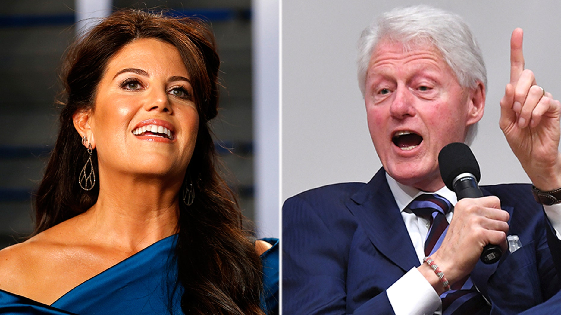 Monica Lewinsky said Wednesday she was uninvited from an event on social change after former President Bill Clinton decided to attend.