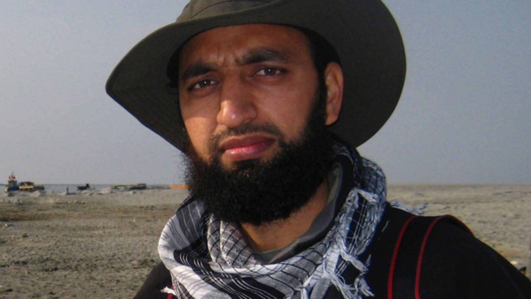 In this undated photo, Associated Press photographer Altaf Qadri poses in Dhemaji, Assam, India.