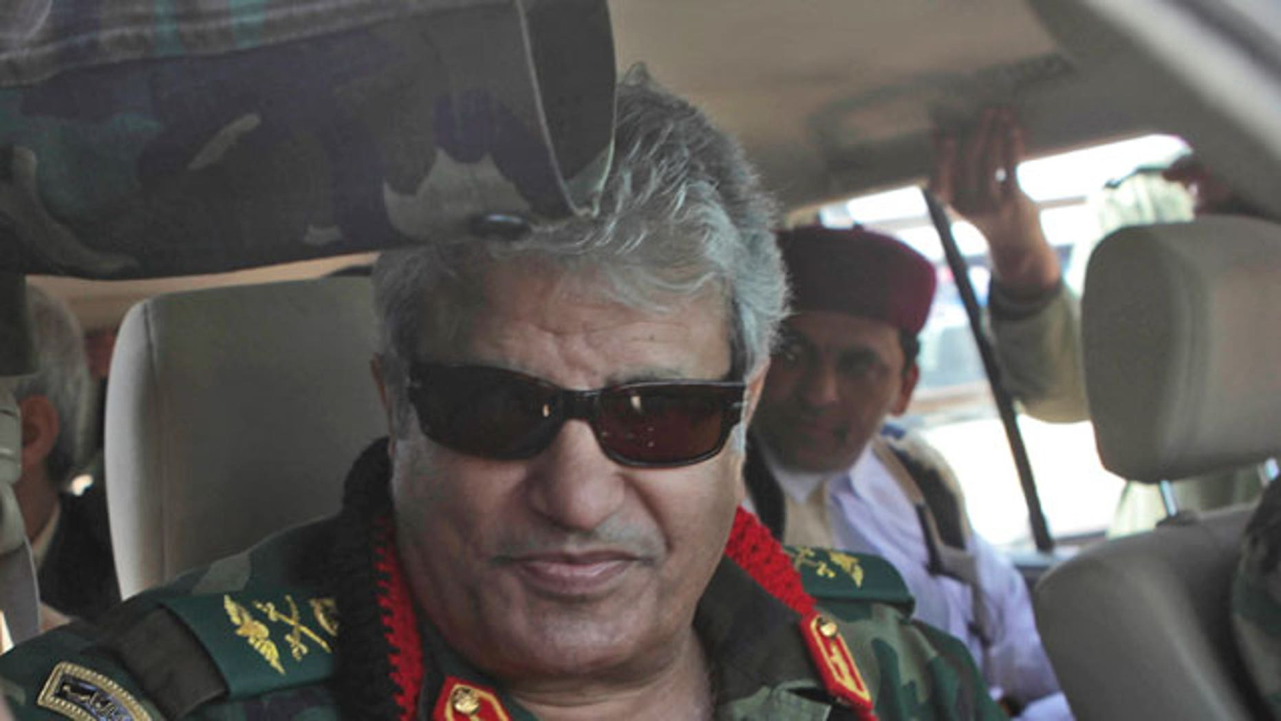 Libyan rebel military leader Abdel-Fattah Younis.