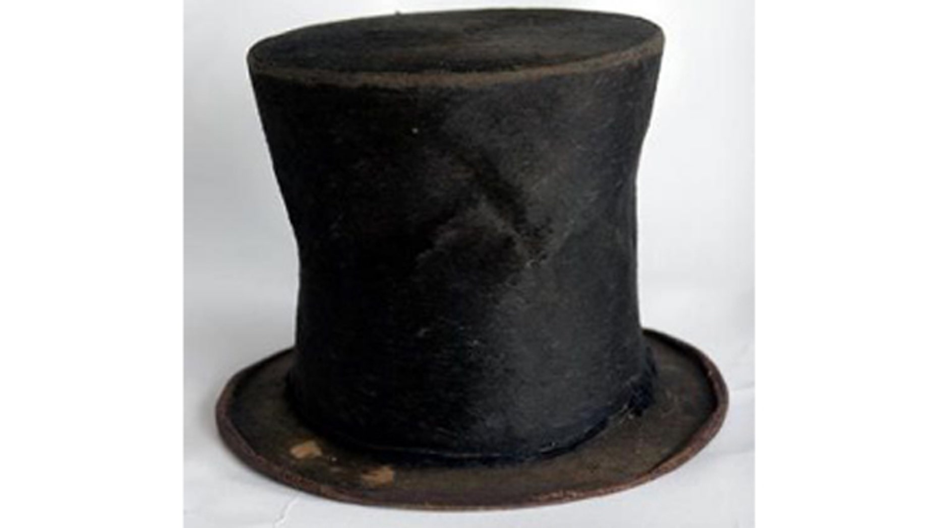 Abraham Lincoln's stovepipe hat is part the Taper Collection, which the Abraham Lincoln Presidential Library and Museum has acquired.