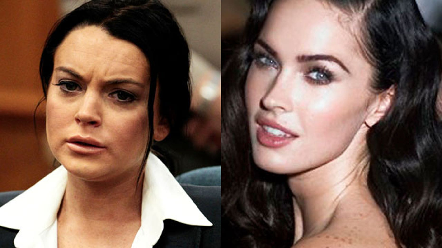 Lohan and Fox are reportedly up for the same Liz role. (AP)