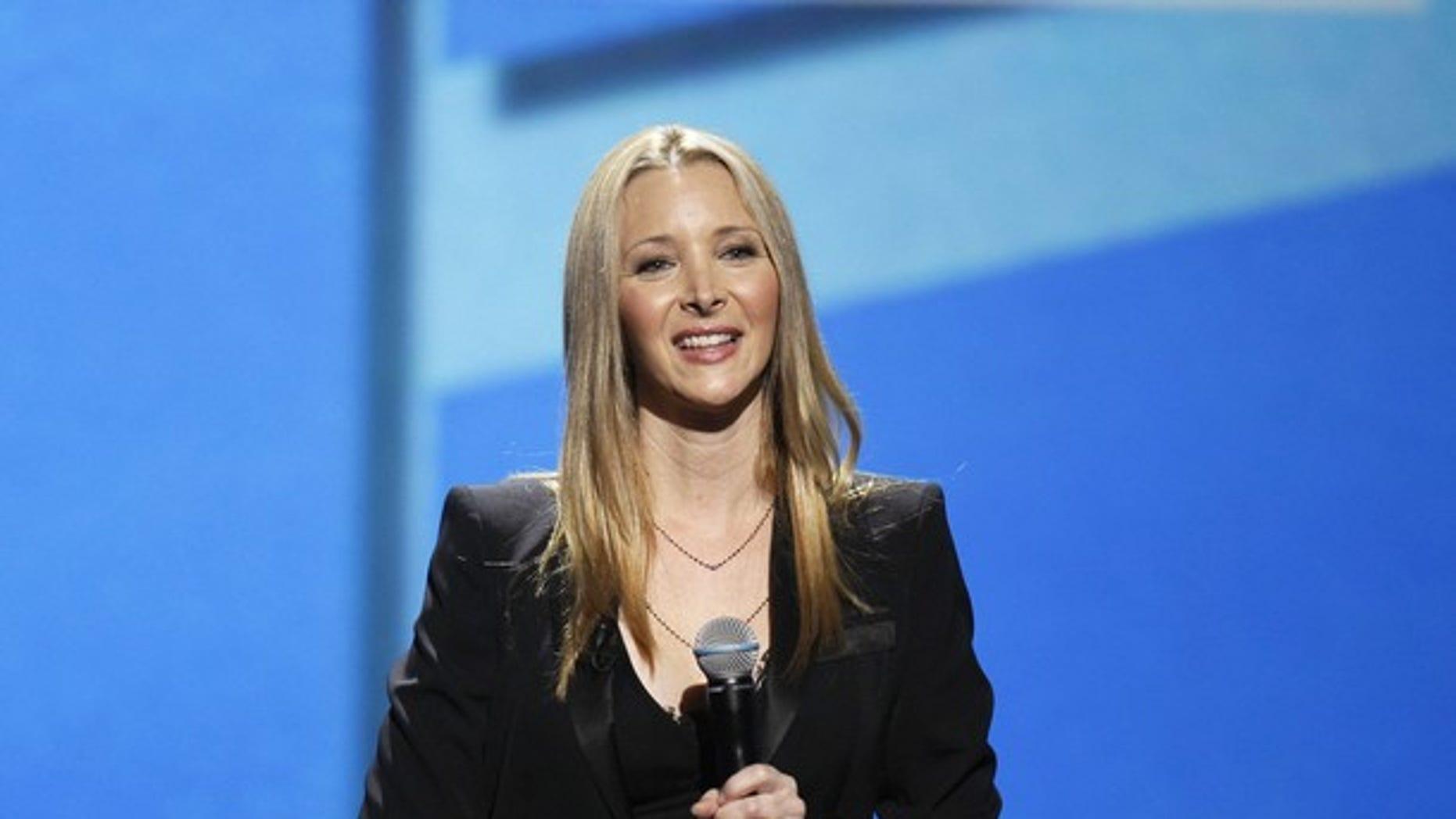 June 13: Lisa Kudrow at the Webby Awards. (Reuters)