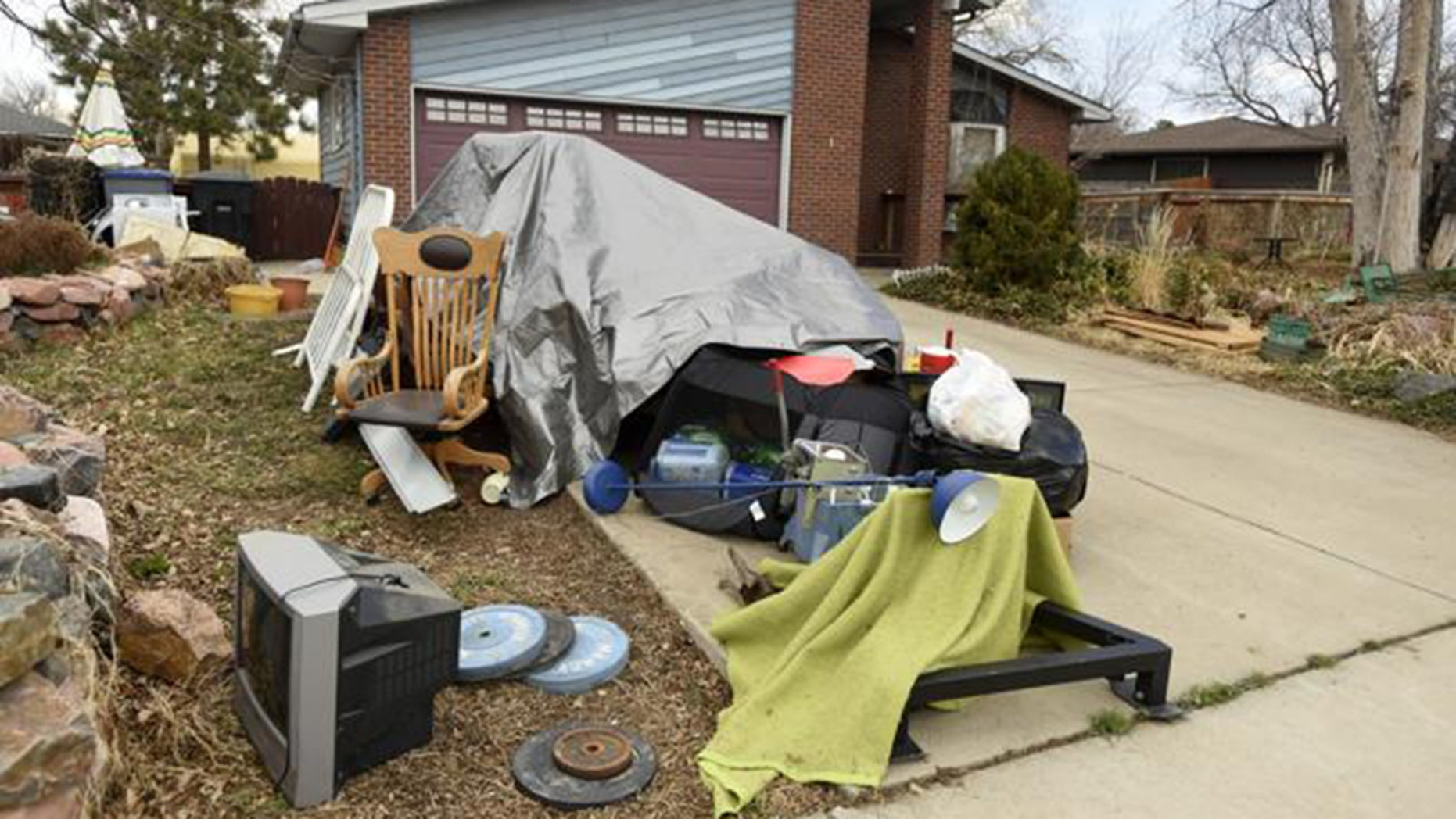A Colorado woman's house was ransacked after it was mistaken as the site of an estate sale.