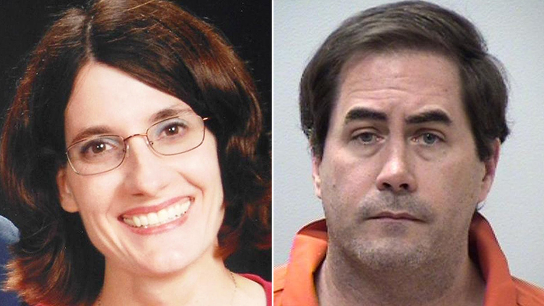 Theresa Lockhart, left, has not been seen since May 18. Police said her husband Christopher was the only person of interest in her disappearance
