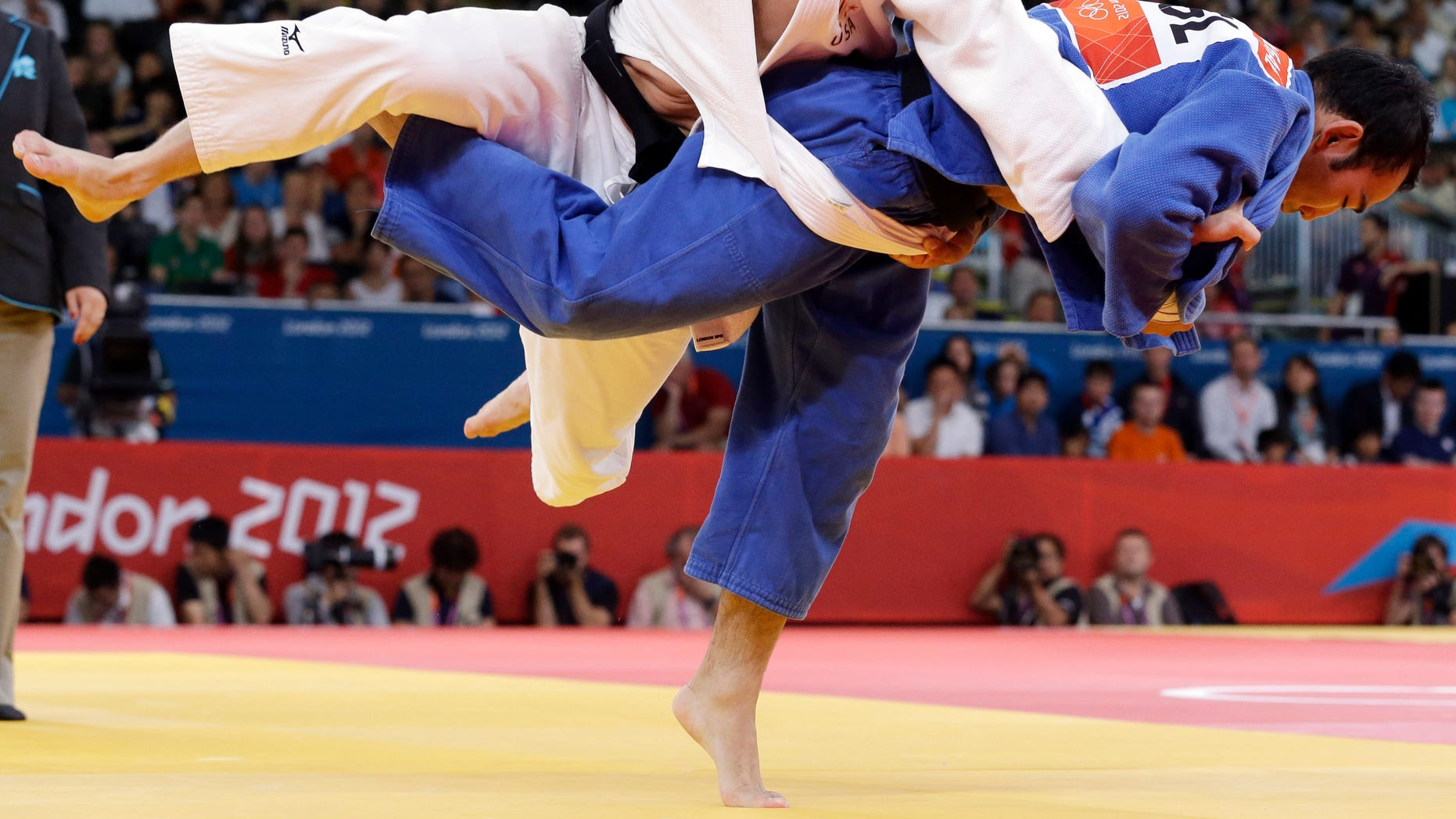US judo fighter expelled from Olympics after testing