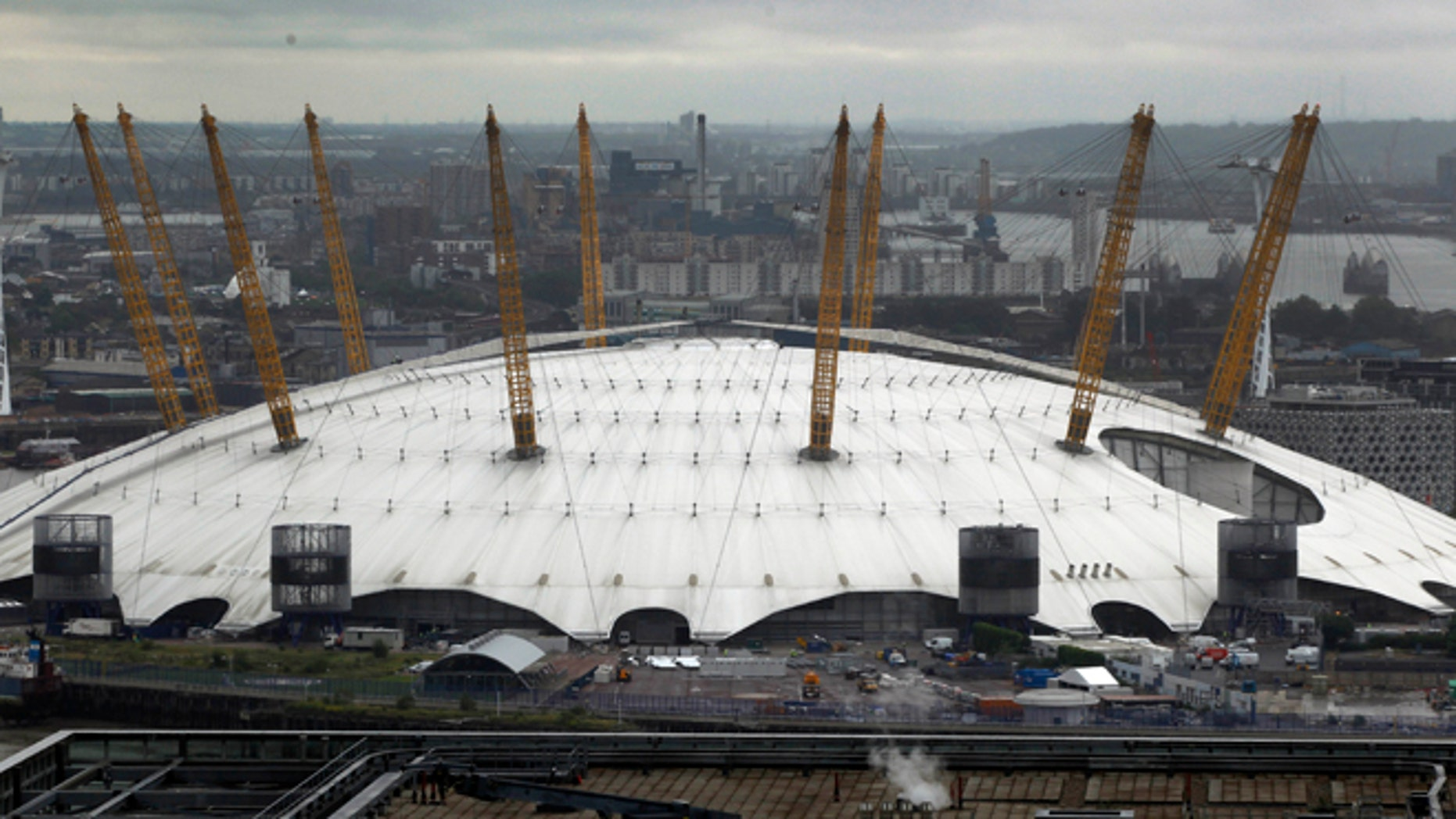 July 3, 2012: Scaling the top of the giant dome that houses the O2 entertainment center and hosts some Olympic competitions could be London's equivalent of climbing the Sydney Harbor Bridge.