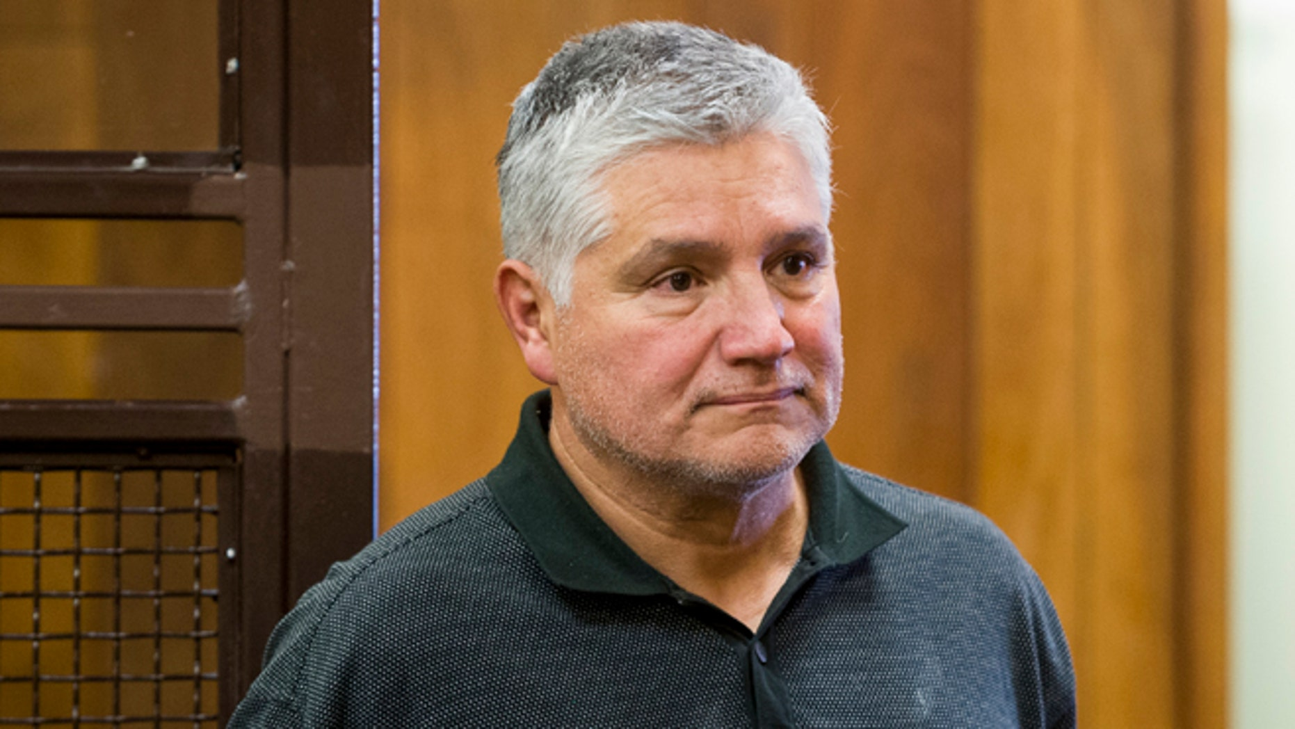 Robert Pimentel at his arraignment on Jan. 24, 2013 at Los Angeles Superior Court in Long Beach, Calif.