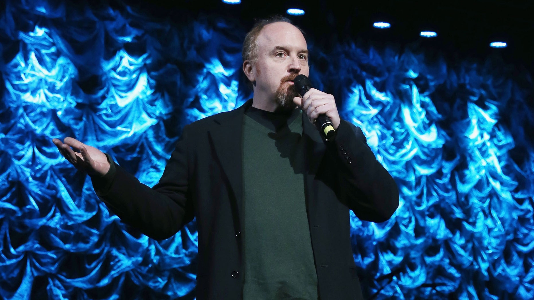 Louis CK  at Hammerstein Ballroom on January 31, 2014 in New York City.
