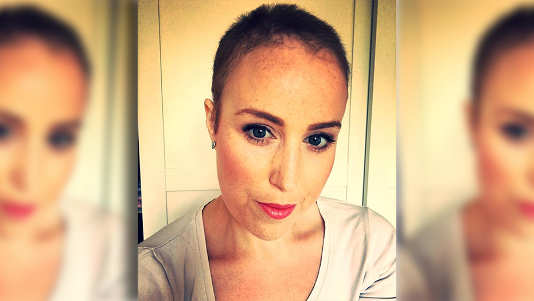 Louise Gleadell was diagnosed with cervical cancer just nine months after her youngest son was born.