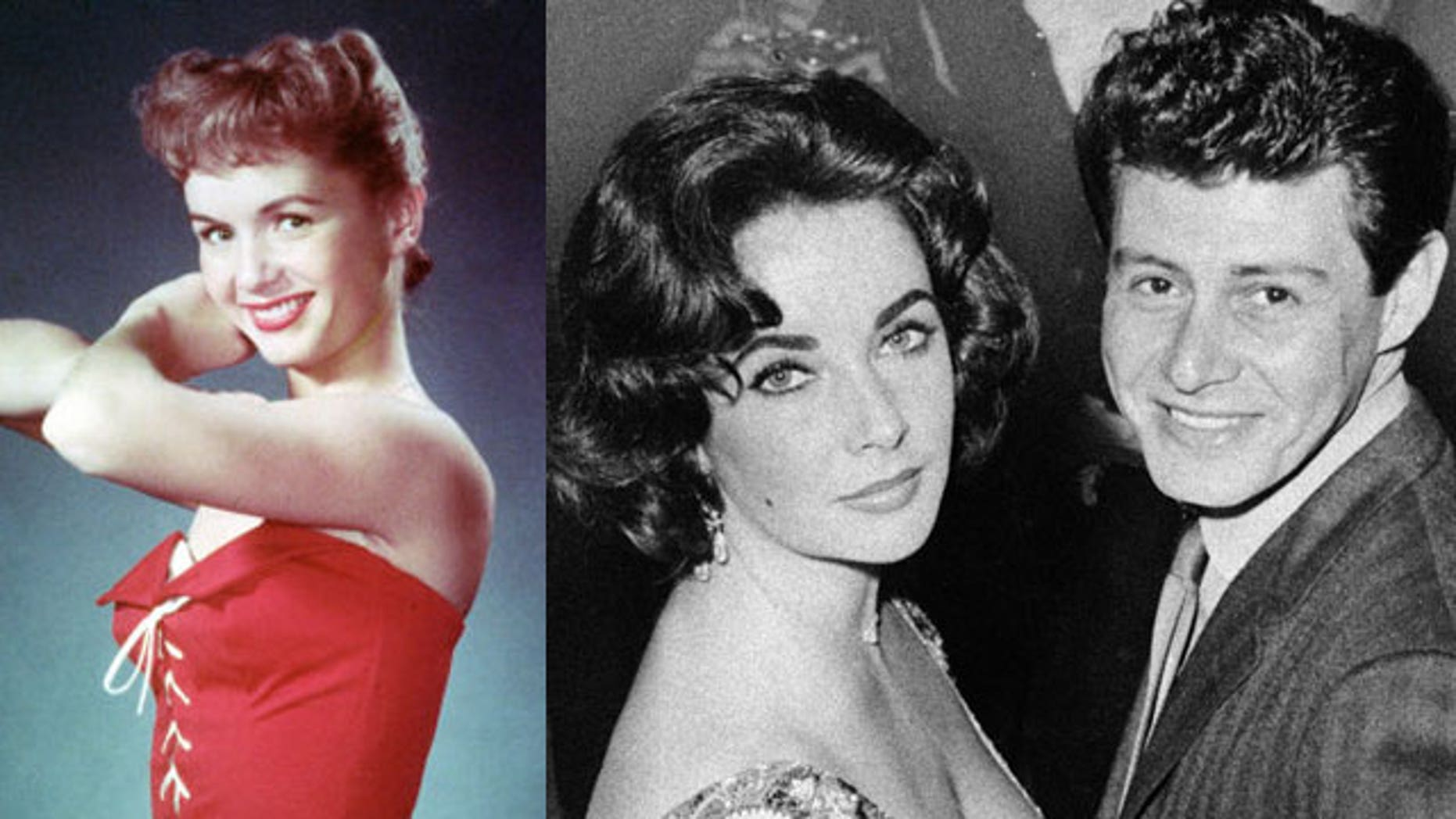 Eddie Fisher caused a scandal in 1958 when he left his wife Debbie Reynolds for his best friend's widow, Elizabeth Taylor.