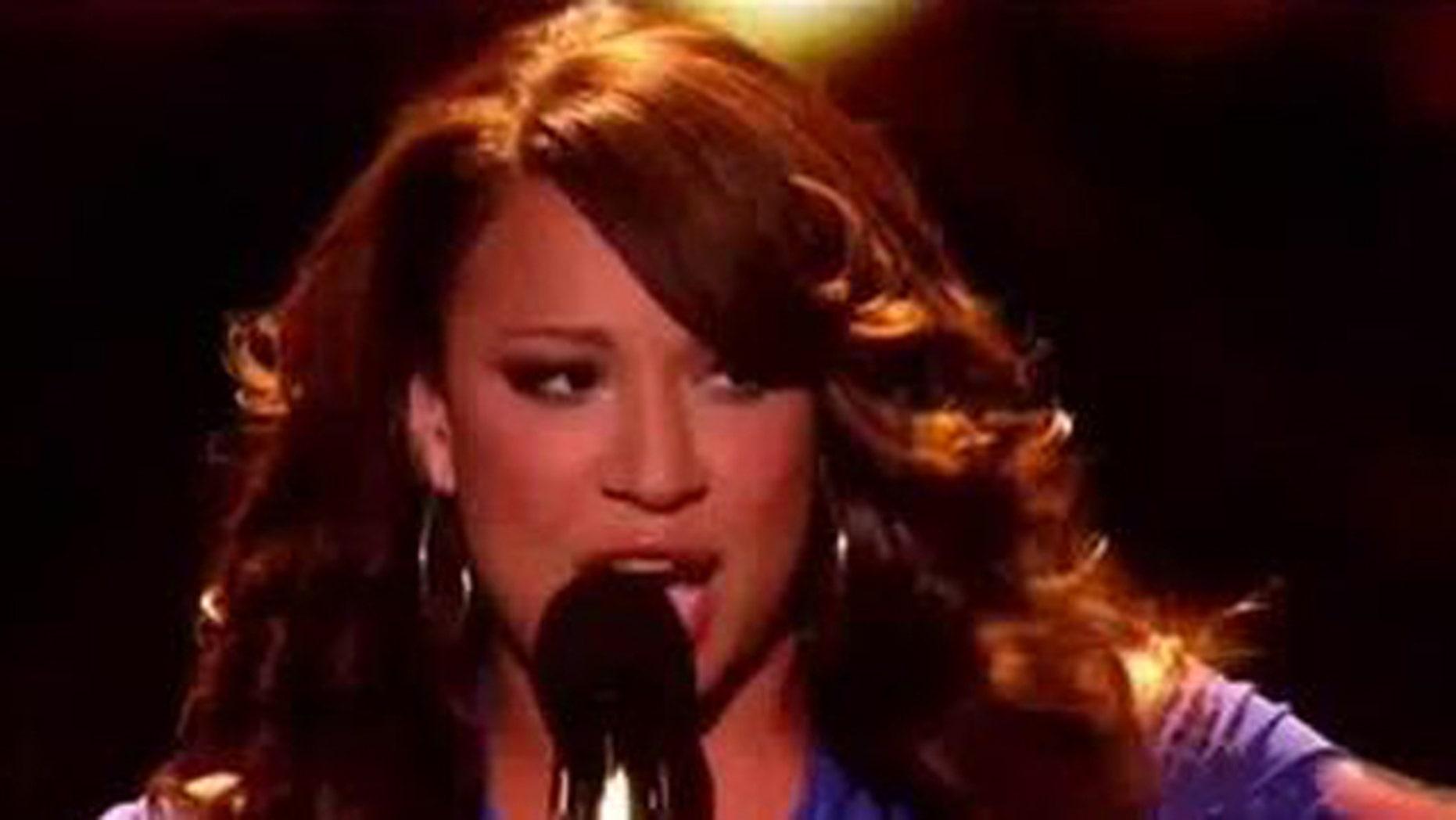 "Nov. 23, 2011: Melanie Amaro, 19 sings R. Kelly's ""The World's Greatest"" on the X Factor."