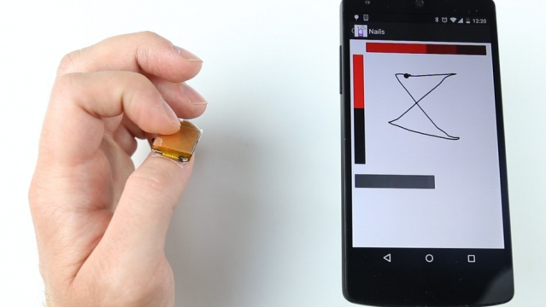 NailO wearable device.