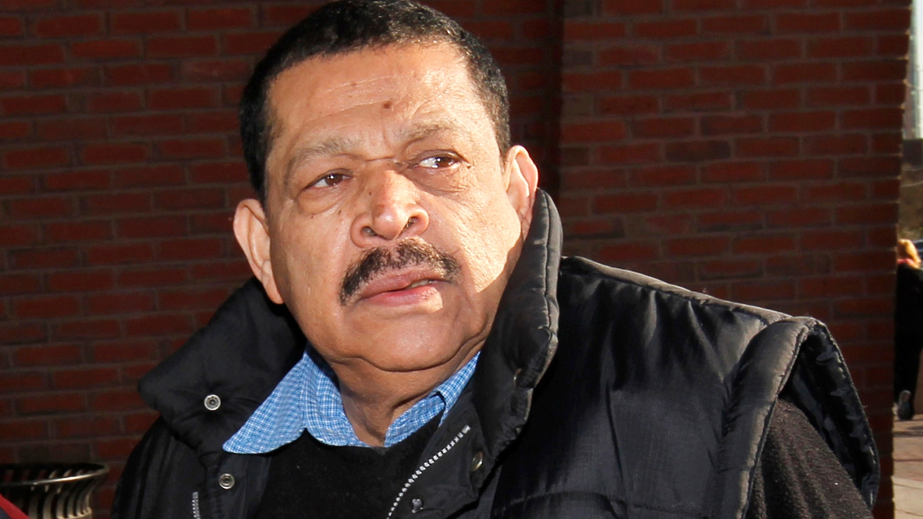 Inocente Orlando  Montano, a former Salvadoran military officer, arrives at federal court in Boston in Dec. 19, 2011 .