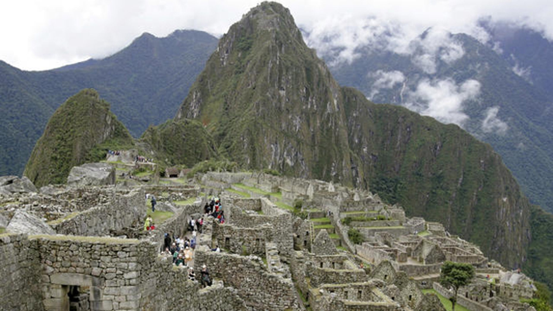 View of  Peru's famed Machu Picchu ruins in this July, 2006, file photo. (AP Photo/Martin Mejia)