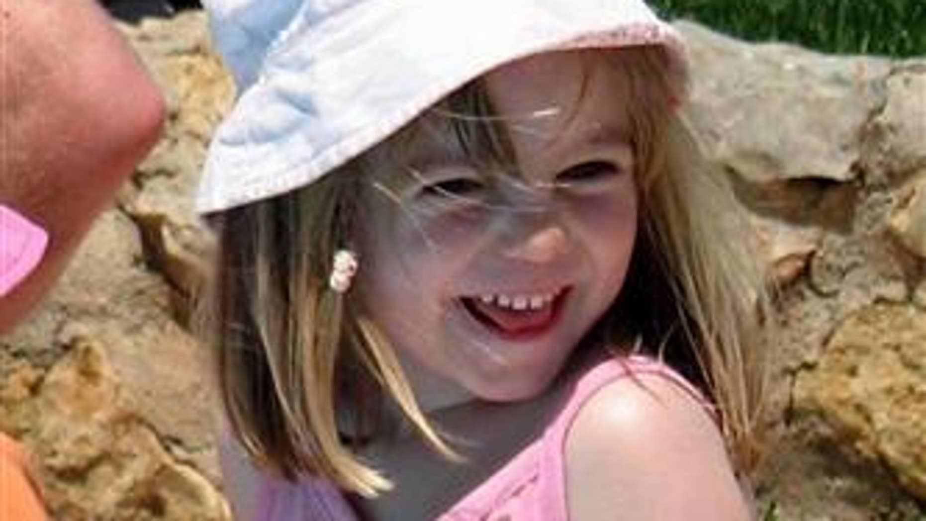 McCann is pictured on the day she disappeared from the family's holiday apartment in Praia da Luz, Portugal.