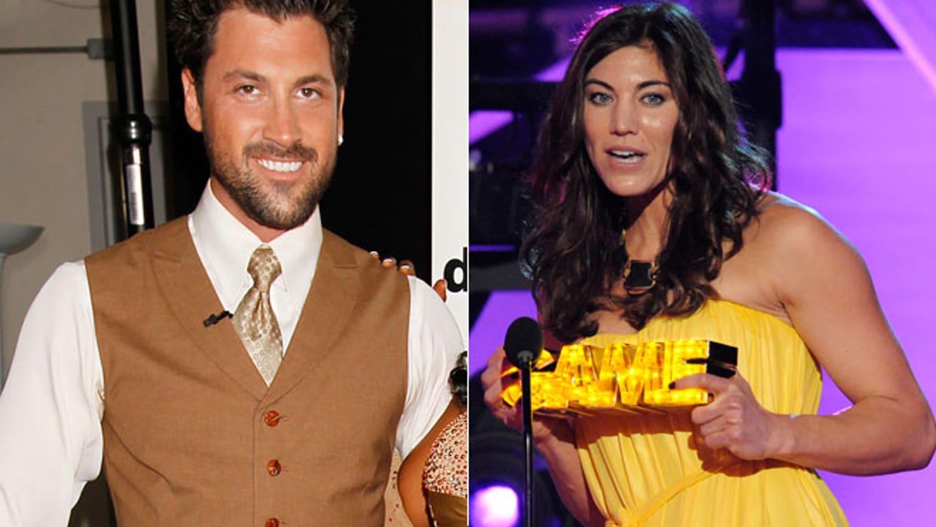 Hope Solo is accusing her former 'DWTS' partner Maksim Chmerkovskiy of being aggressive with her during rehearsals.
