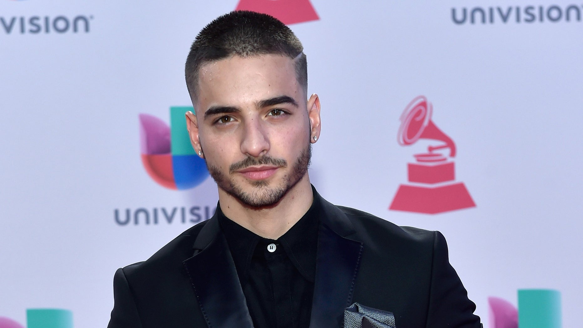 LAS VEGAS, NV - NOVEMBER 19:  Recording artist Maluma attends the 16th Latin GRAMMY Awards at the MGM Grand Garden Arena on November 19, 2015 in Las Vegas, Nevada.  (Photo by David Becker/Getty Images for LARAS)
