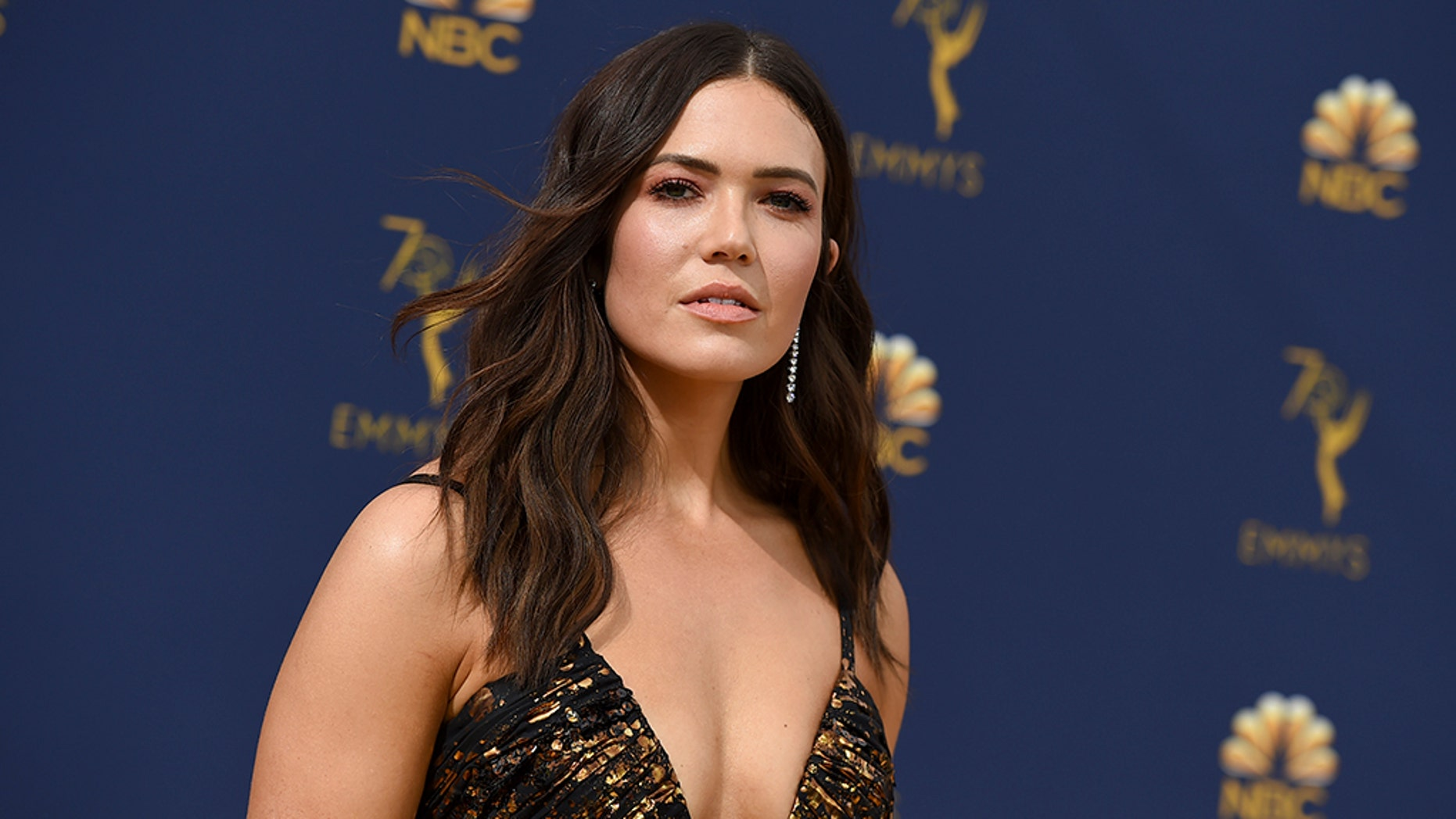 "Mandy Moore plays Rebecca Pearson in the NBC drama ""This Is Us."""