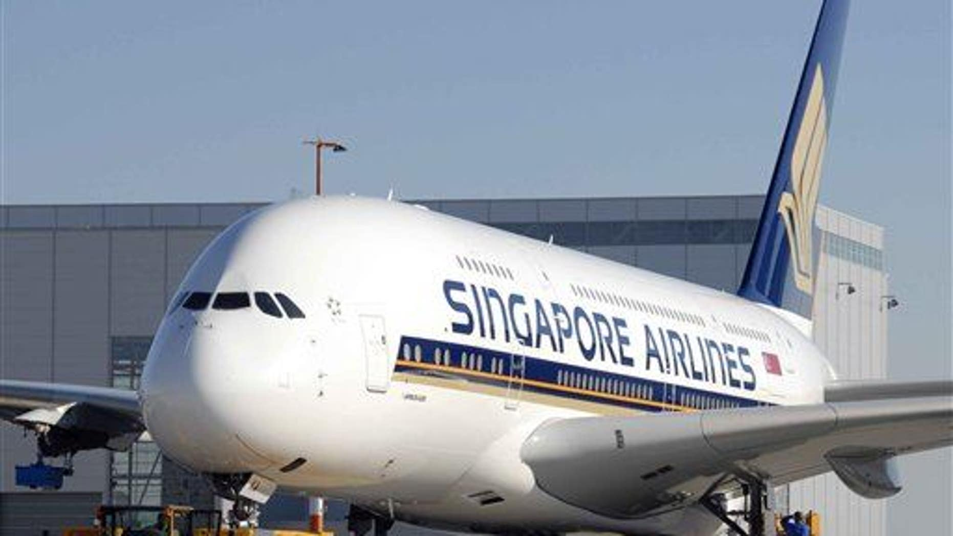 File photo of a Singapore Airlines aircraft.
