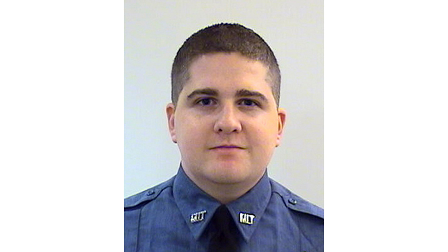 FILE - This undated file photo provided by the Middlesex District Attorney's Office shows Massachusetts Institute of Technology Police Officer Sean Collier, 26, of Somerville, Mass., who was shot to death Thursday, April 18, 2013 on the school campus in Cambridge, Mass. (AP Photo/Middlesex District Attorney's Office, File)