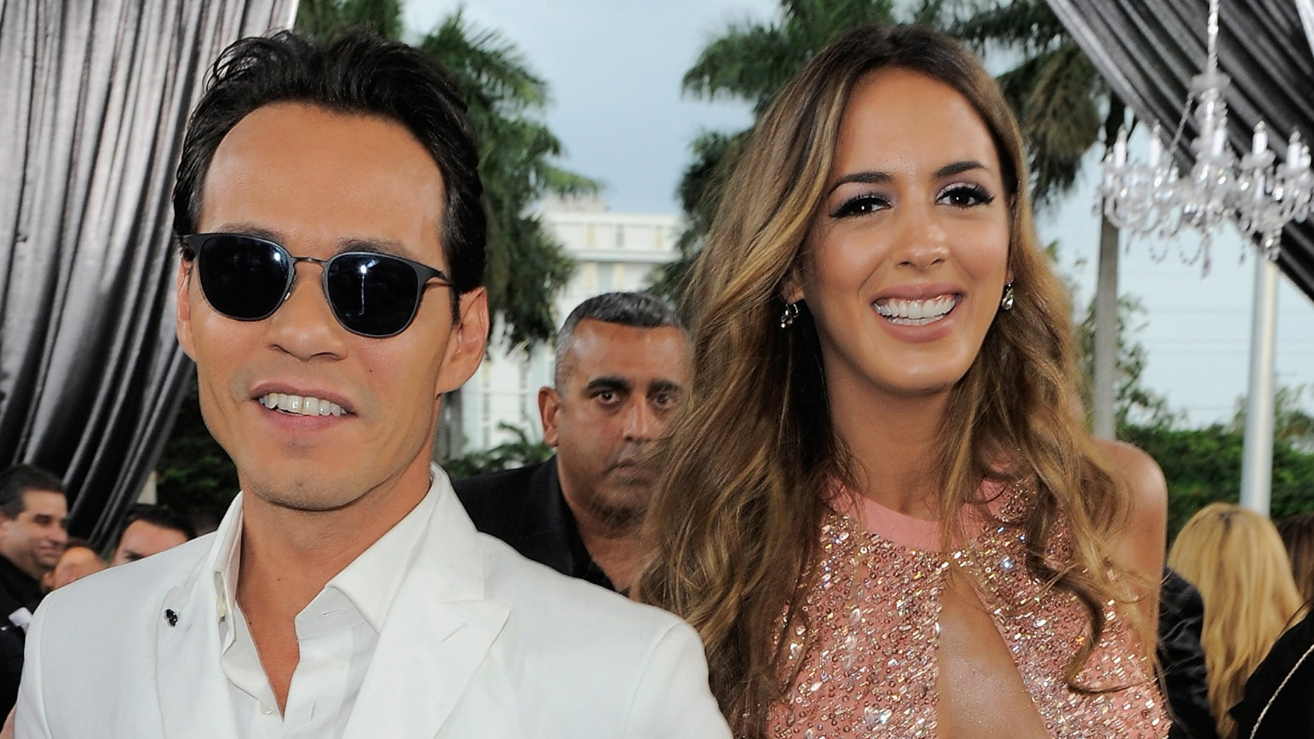 """MIAMI, FL - APRIL 30:  Marc Anthony and Shannon De Lima attend the 2015 Billboard Latin Music Awards """"Premios Billboard"""" at BankUnited Center on April 30, 2015 in Miami, Florida.  (Photo by Sergi Alexander/Getty Images for Billboard)"""