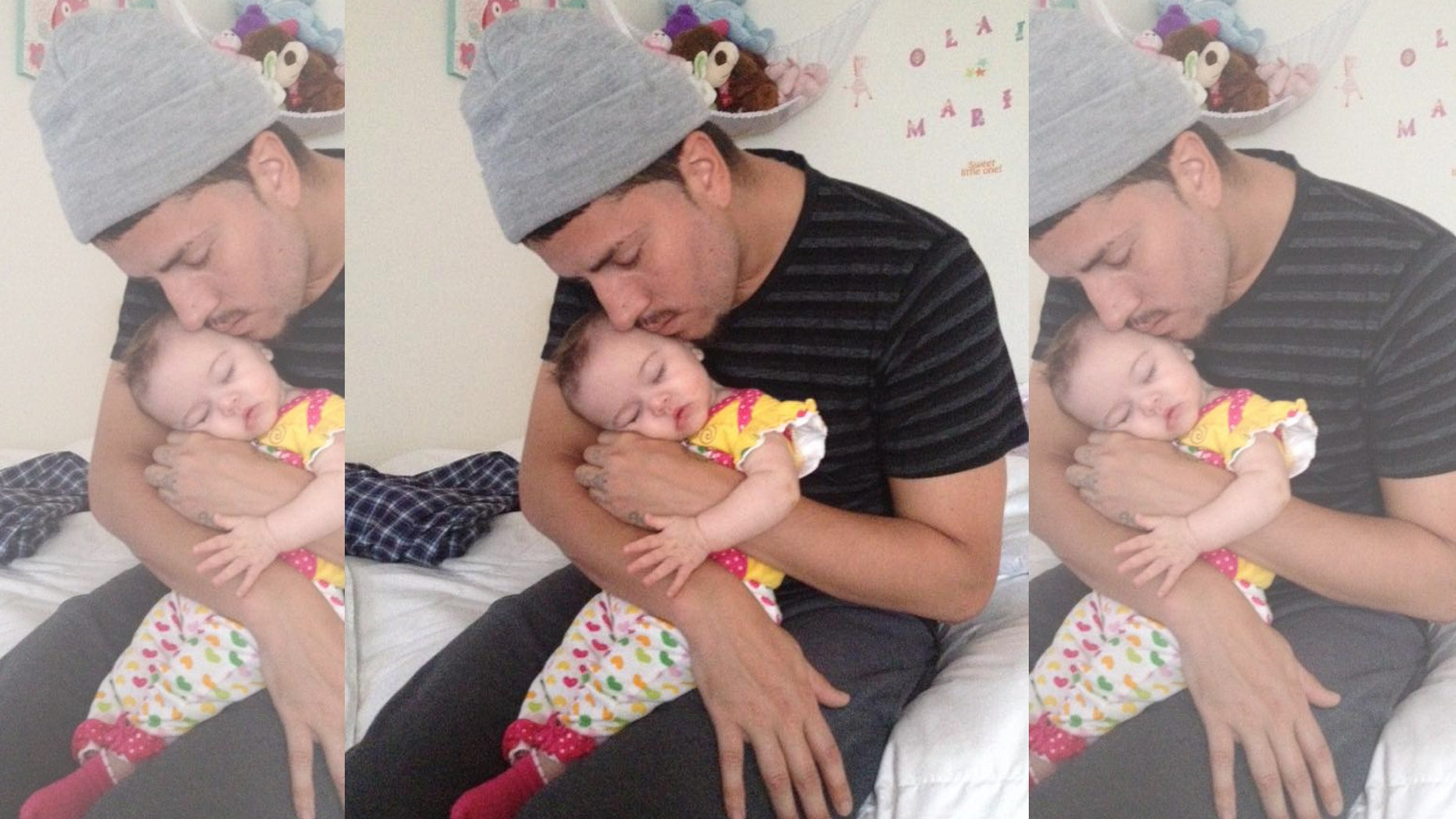 Marco Mejia and daughter shown in photo from his Facebook profile.