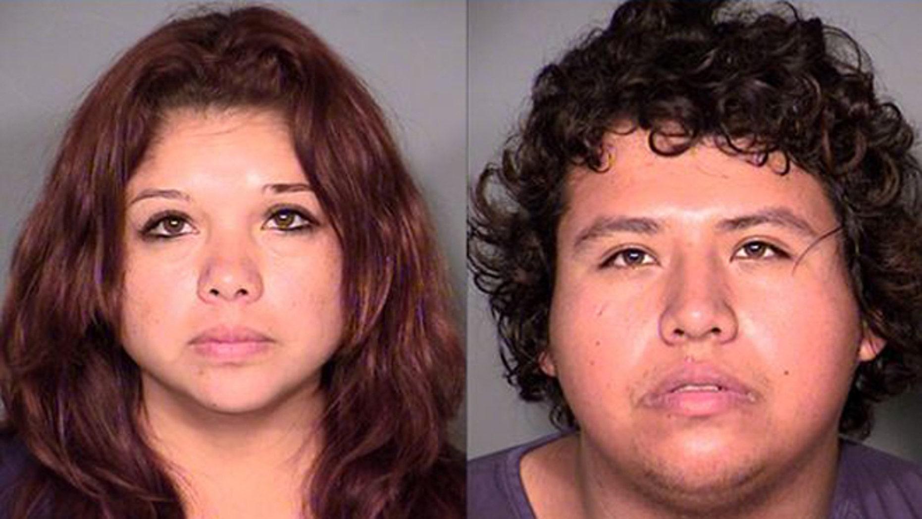 Maria Hernandez and her brother Hector Gutierrez. (Photo: Las Vegas Police Department)
