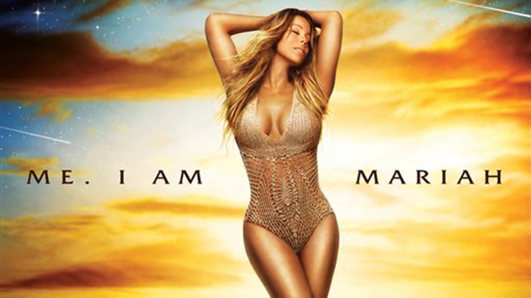 """This CD cover image released by Def Jam Records shows """"Me. I Am Mariah⦠The Elusive Chanteuse"""" by Mariah Carey. (AP Photo/Def Jam Records)"""