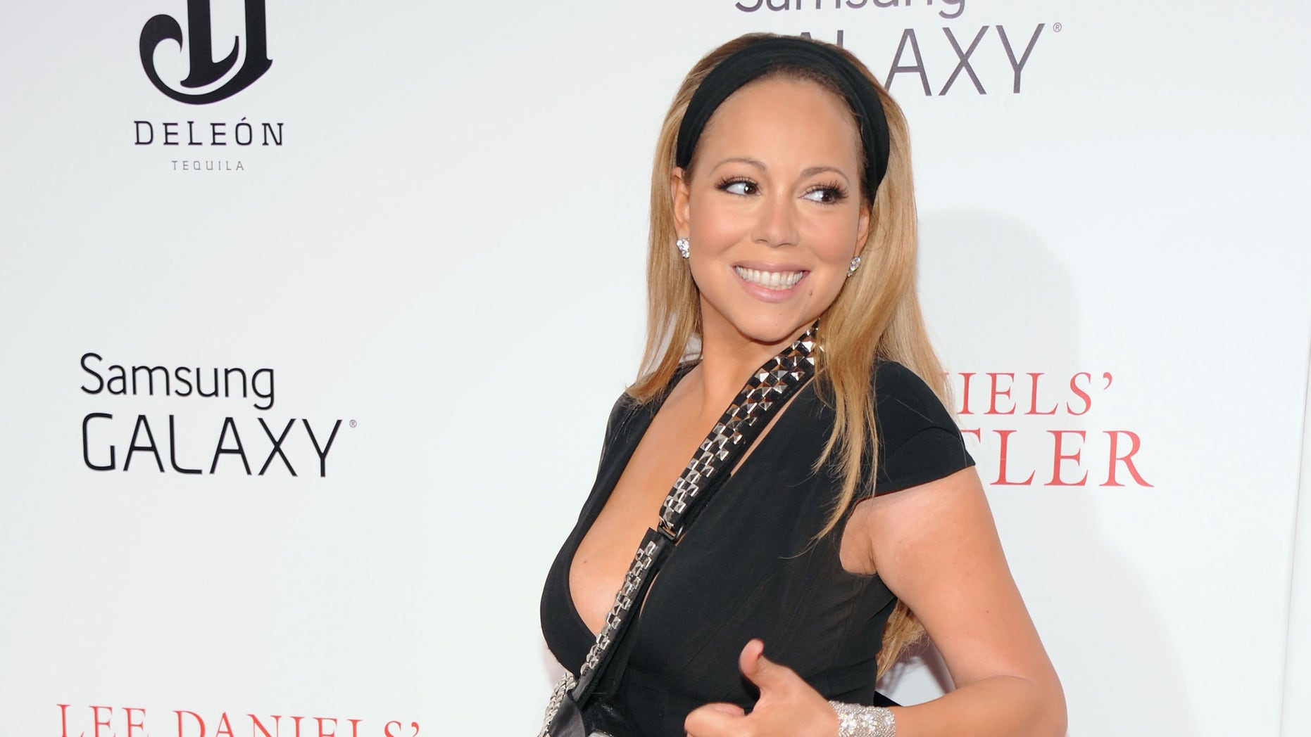 """NEW YORK, NY - AUGUST 05:  Mariah Carey attends Lee Daniels' """"The Butler"""" New York Premiere at Ziegfeld Theater on August 5, 2013 in New York City.  (Photo by Jamie McCarthy/Getty Images)"""