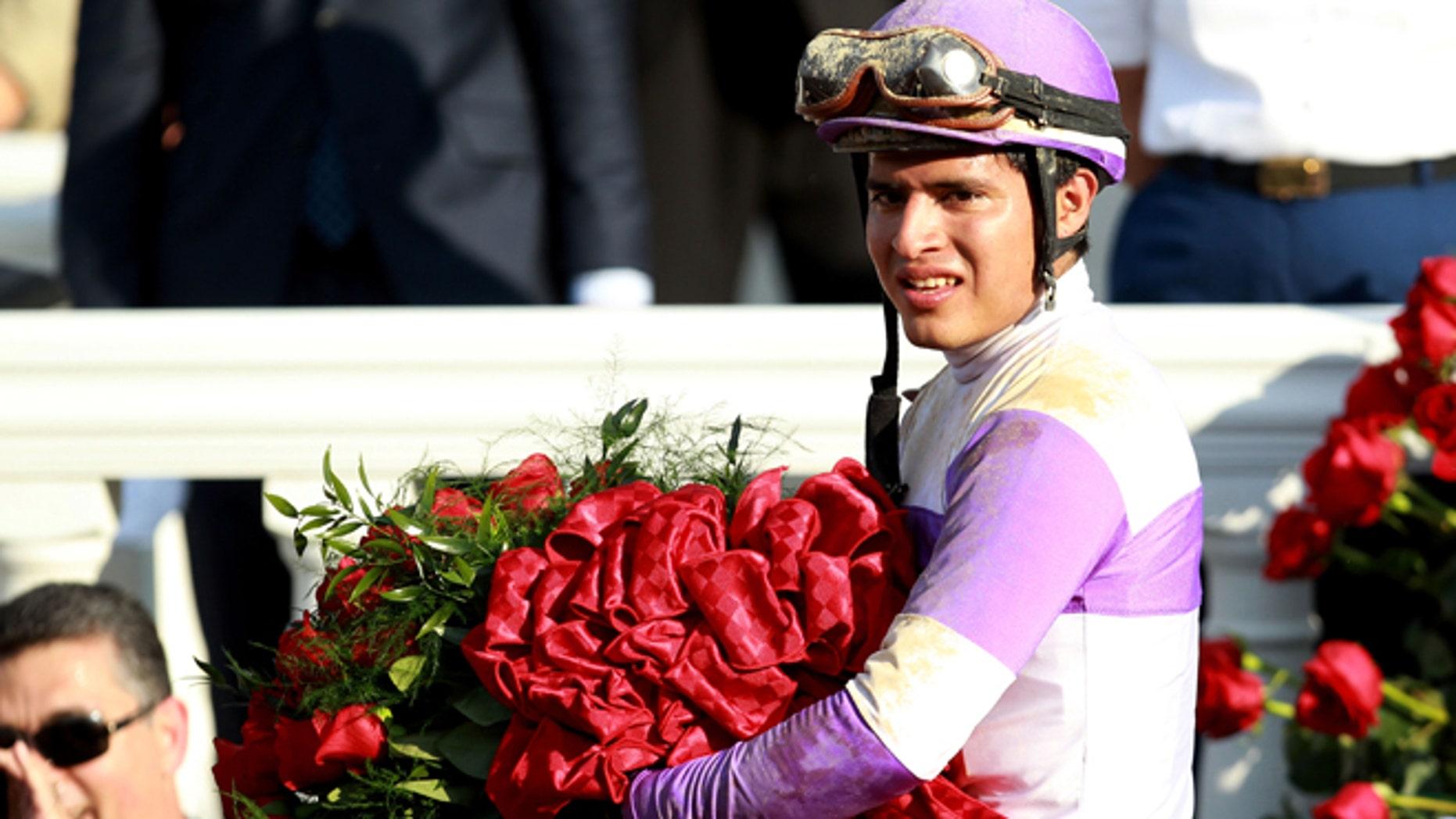 Mario Gutierrez at Churchill Downs on May 5, 2012 in Louisville, Kentucky.