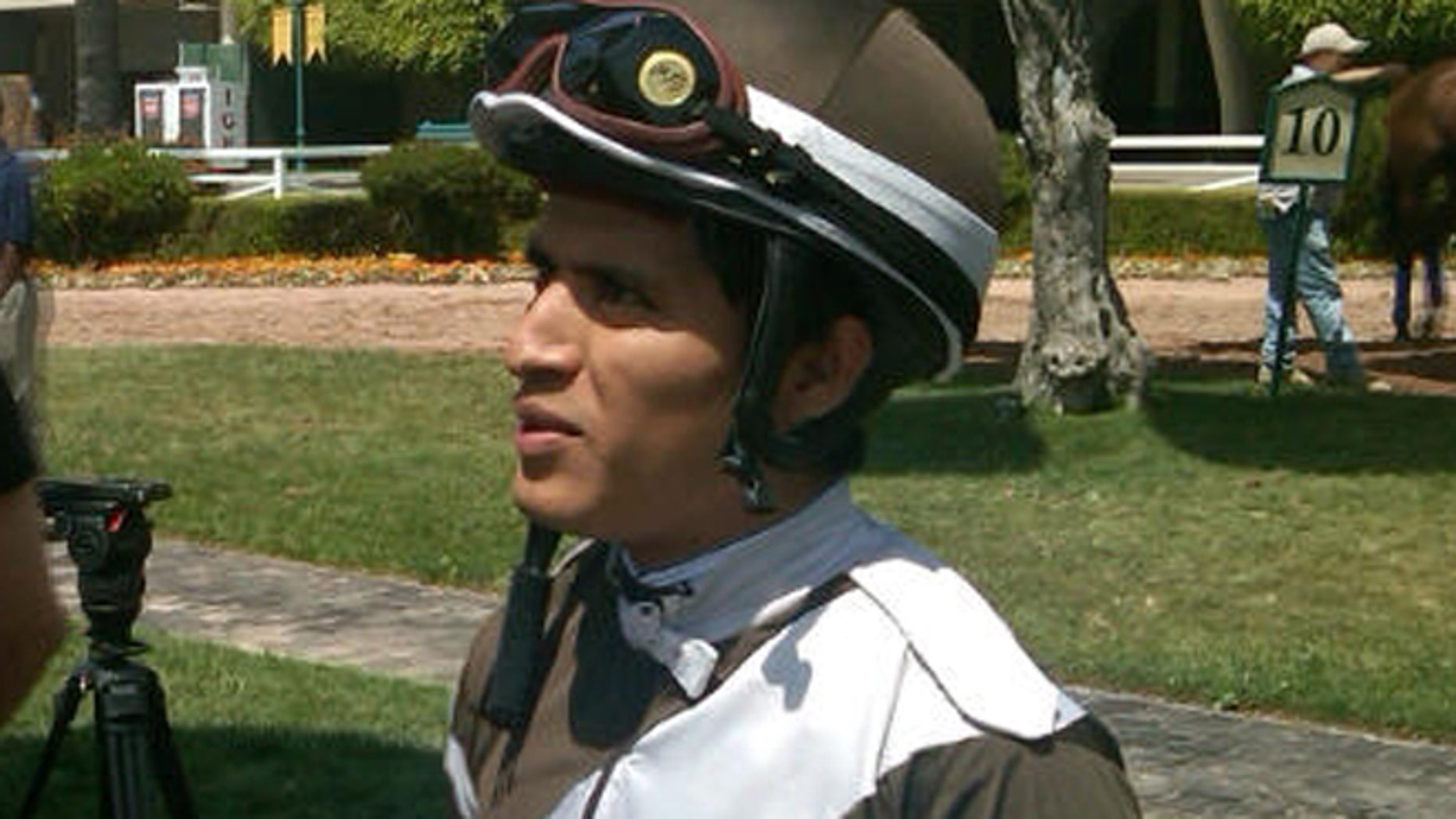 Mario Gutierrez will ride I'll Have Another on Saturday with a shot at racing's Triple Crown.