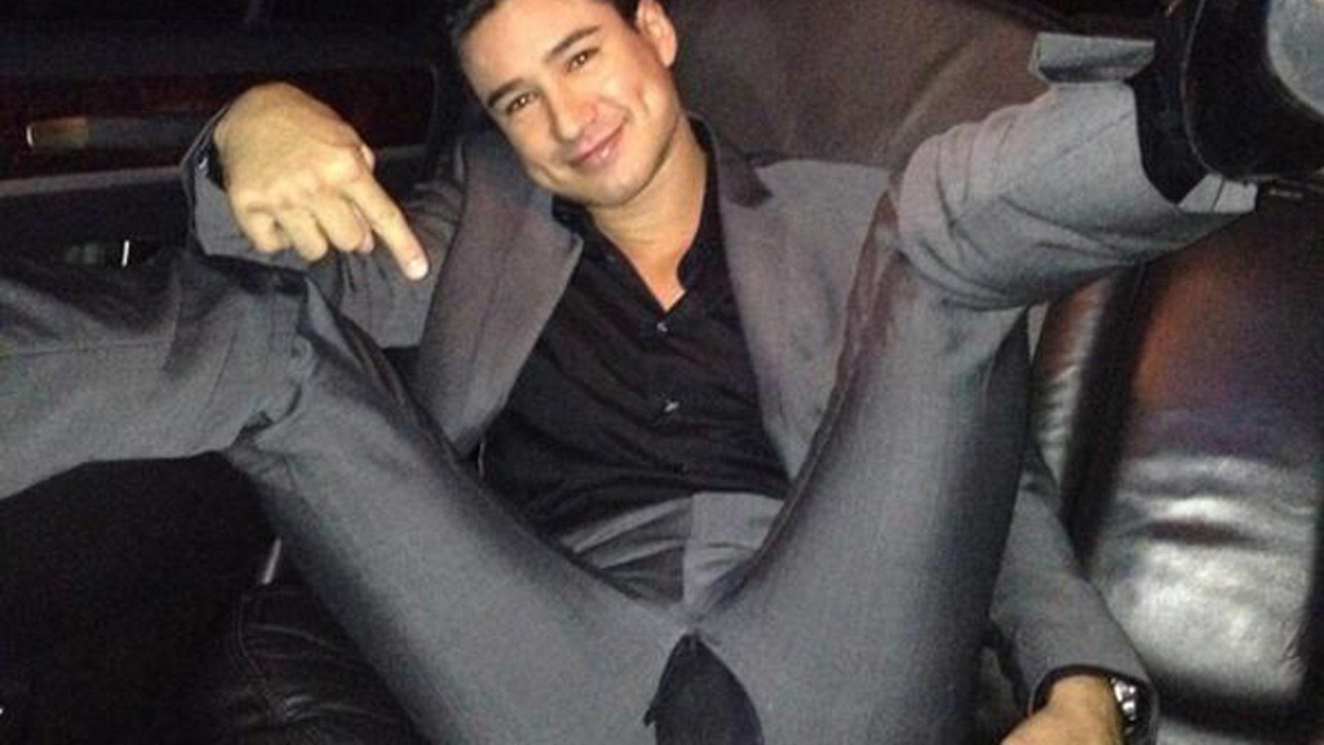 Another Wardrobe Malfunction Mario Lopez Rips Pants During Vegas