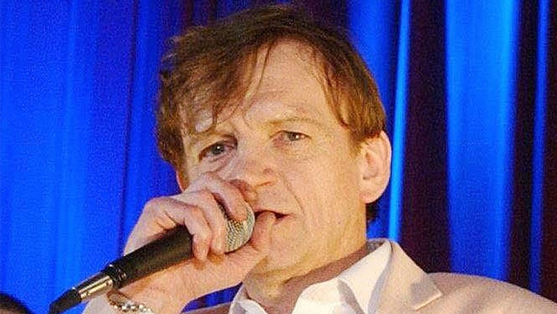 Mark E Smith death. File photo dated 16/06/05 of The Fall singer Mark E Smith who has died aged 60 at home on Wednesday morning, the band's manager Pam Van Damned said. Issue date: Wednesday January 24, 2018. See PA story DEATH Smith. Photo credit should read: YUI MOK/PA Wire URN:34630218