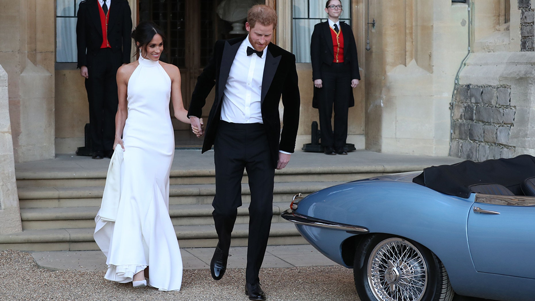 Meghan Markle's stunning Stella McCartney wedding reception dress won't be on display in an upcoming exhibit.