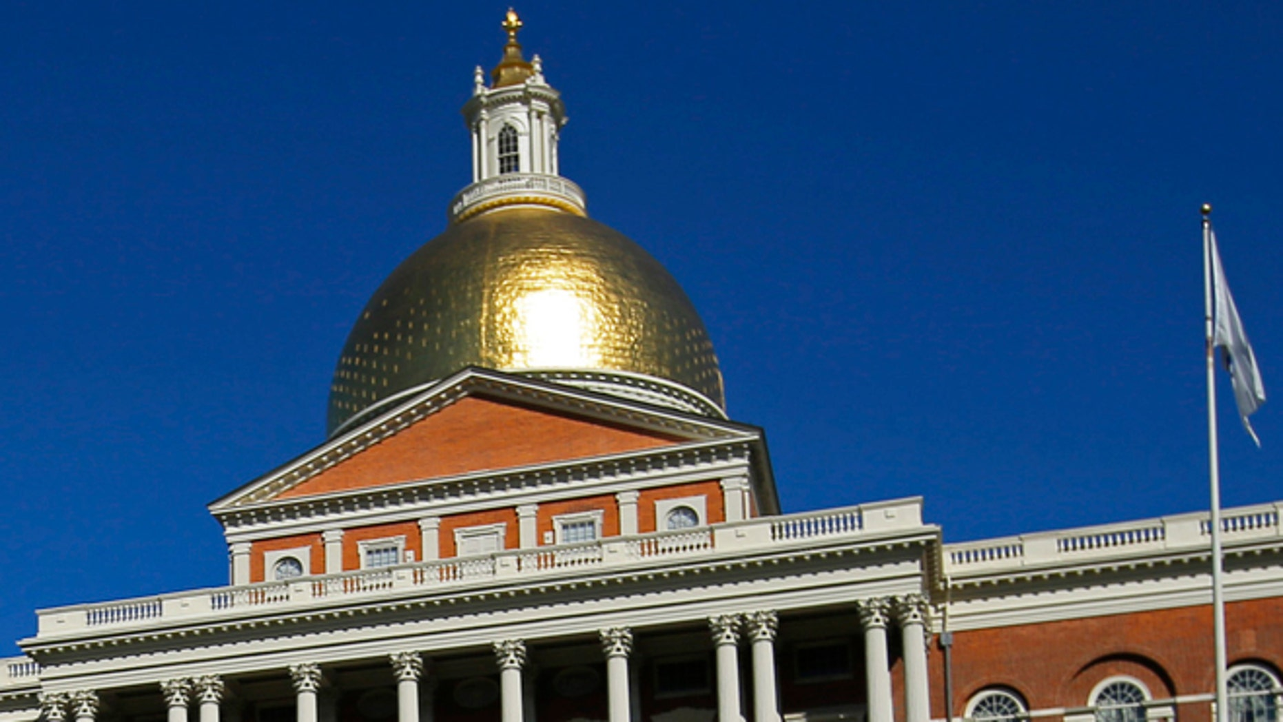 This Sept. 28, 2013 file photo shows the Massachusetts State House.