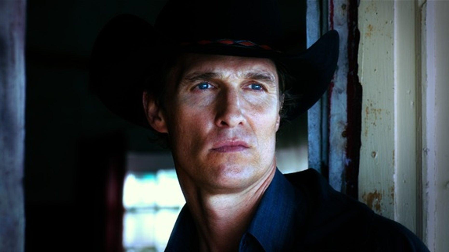 Matthew McConaughey is seen in a scene from 'Killer Joe'
