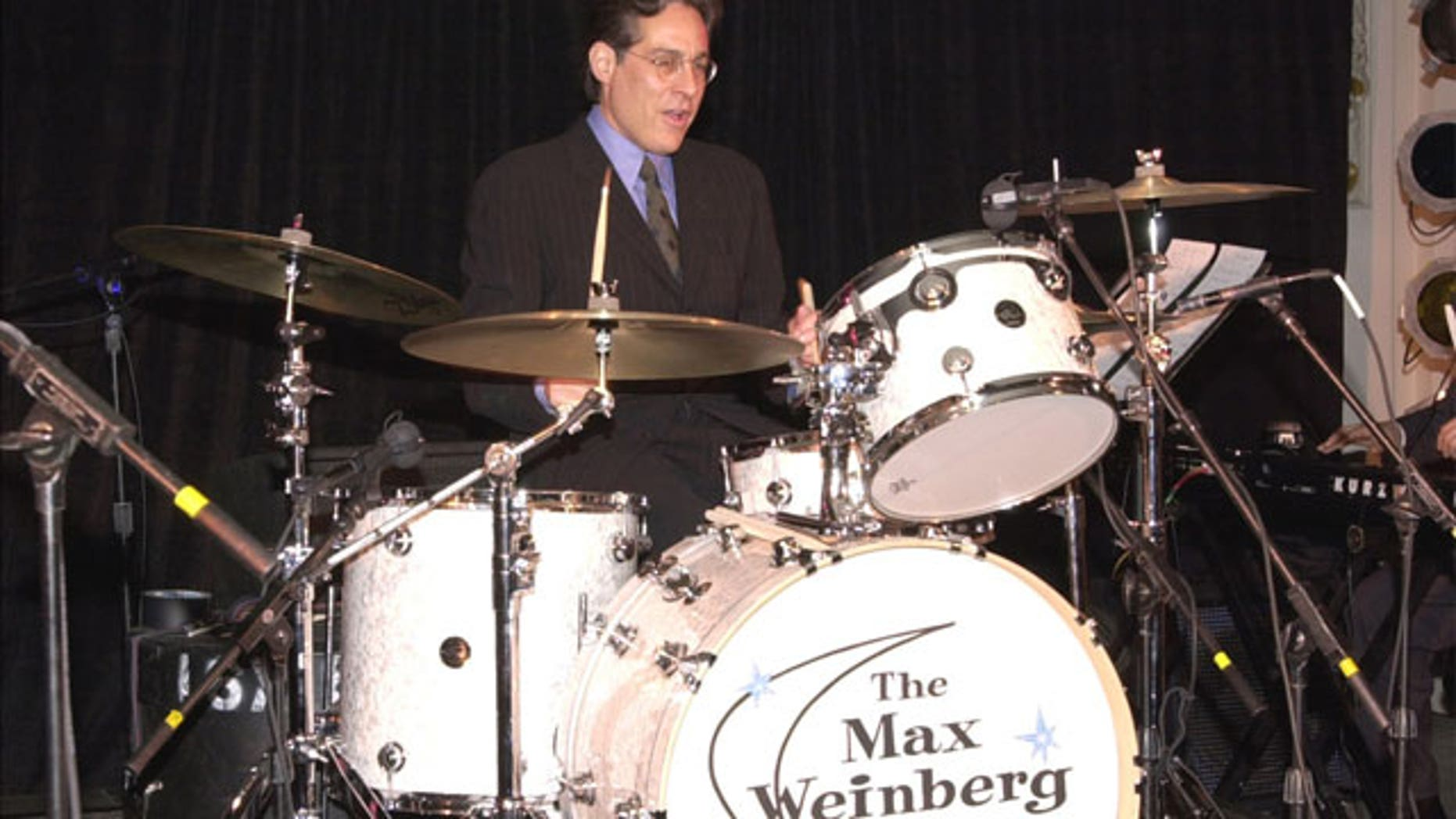 FILE: Max Weinberg performs at a Creative Coalition Event