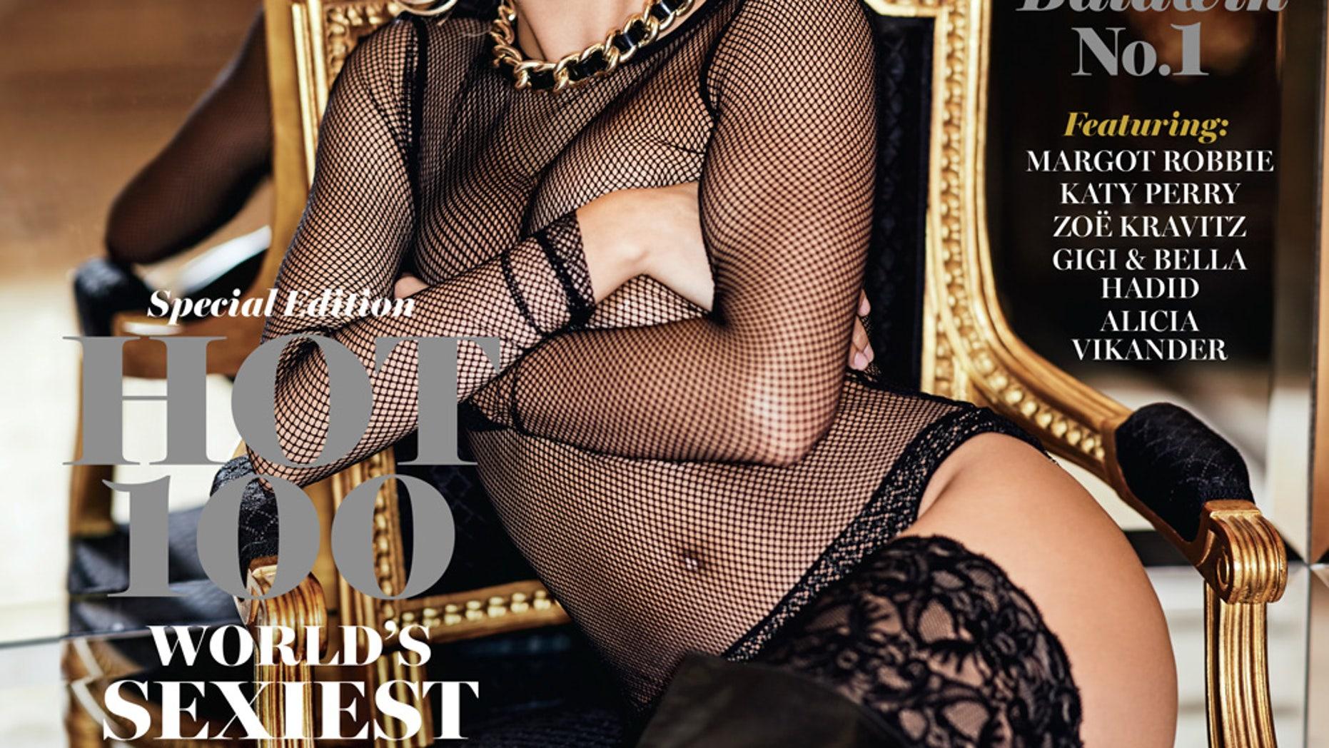 Hailey Baldwin was named World's Sexiest Woman by Maxim Magazine