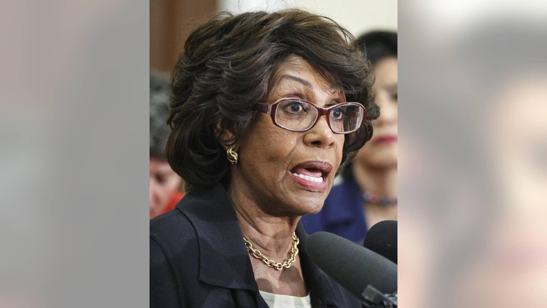 Rep. Maxine Waters, D-Calif.  (AP/File Photo)