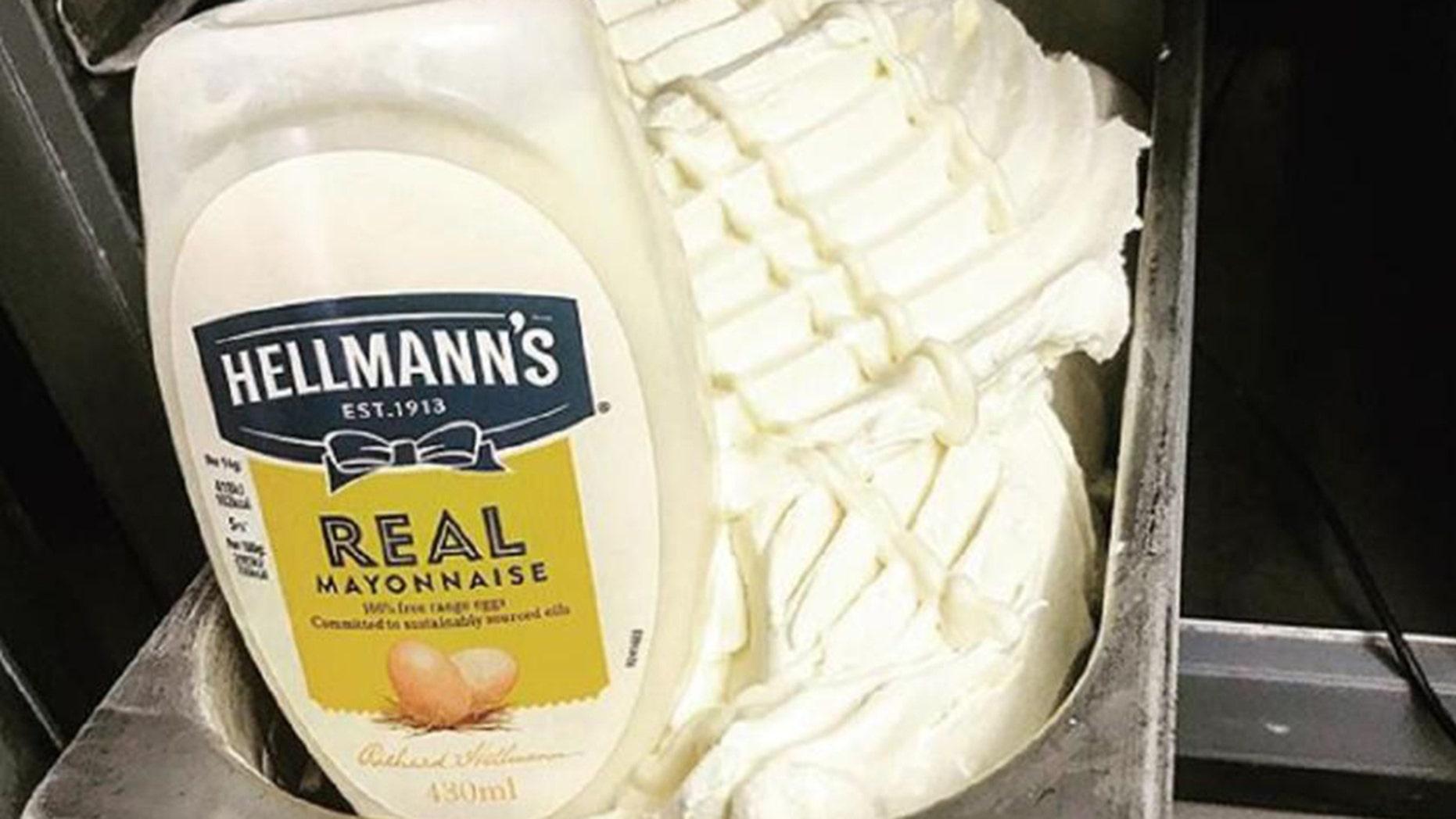 ICE artisan ice cream in Falkirk, Scotland, is selling the bizarre ice cream.