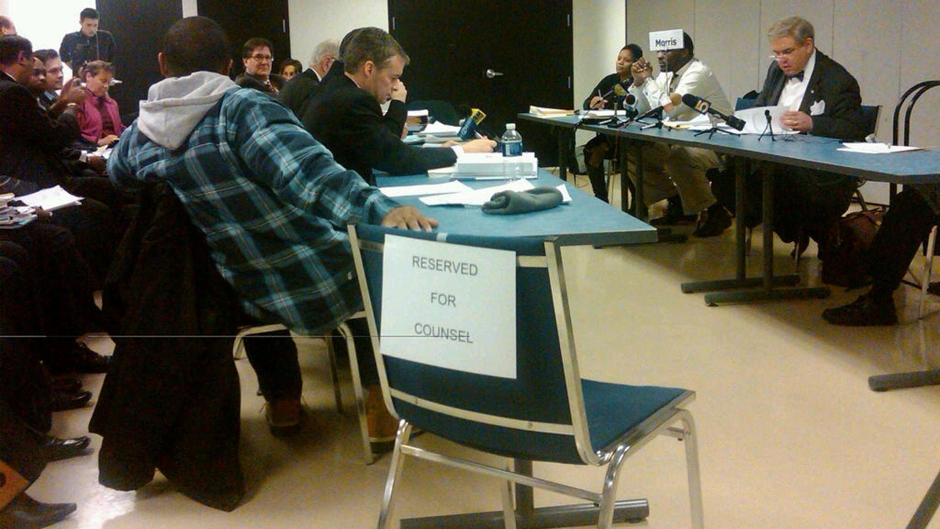 Friday's Chicago Board of Election Hearing (Fox News Photo / Marla Cichowski)