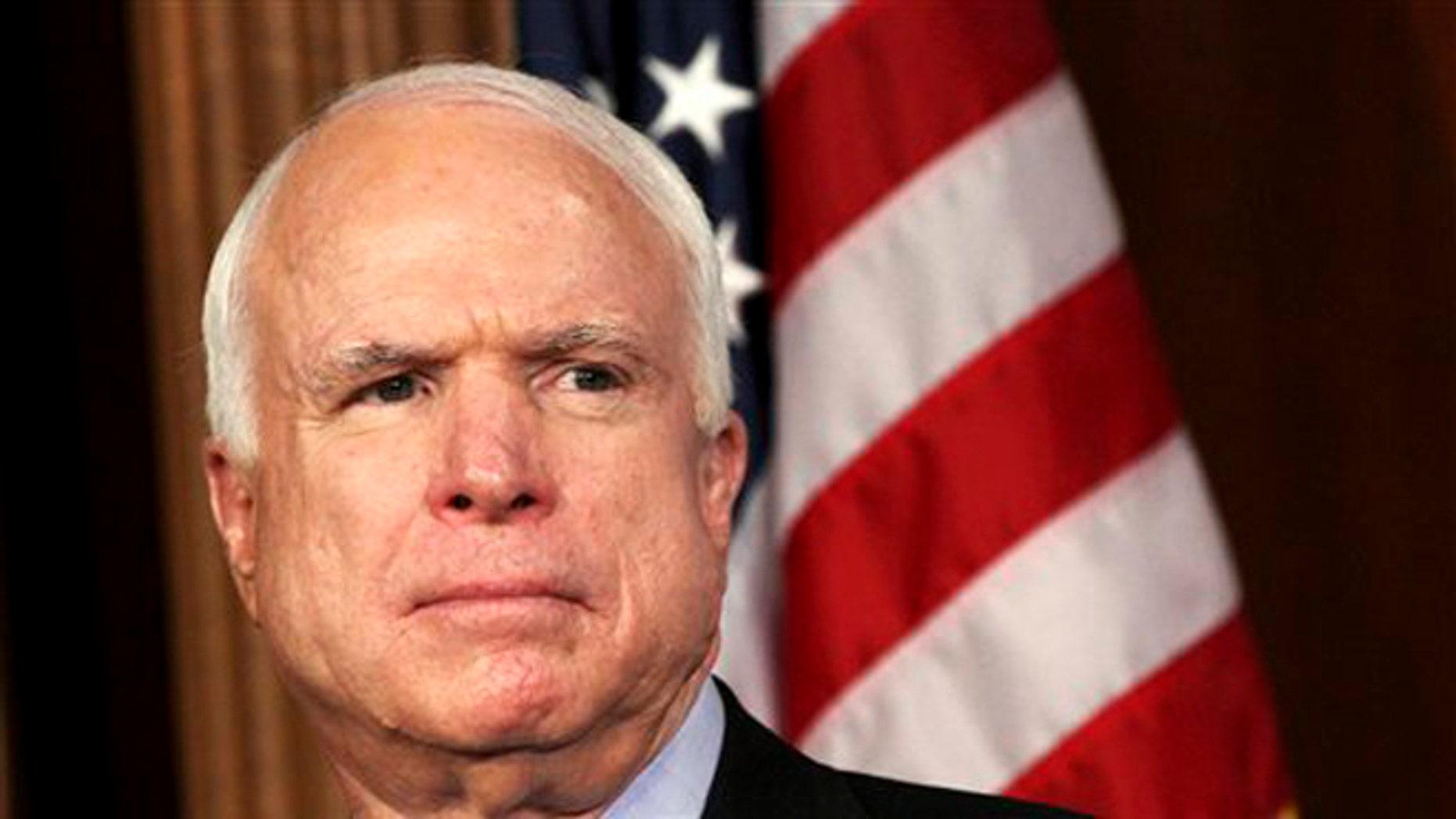 Sen. John McCain, R-Ariz., is defending his old Senate colleague and fellow Vietnam veteran.