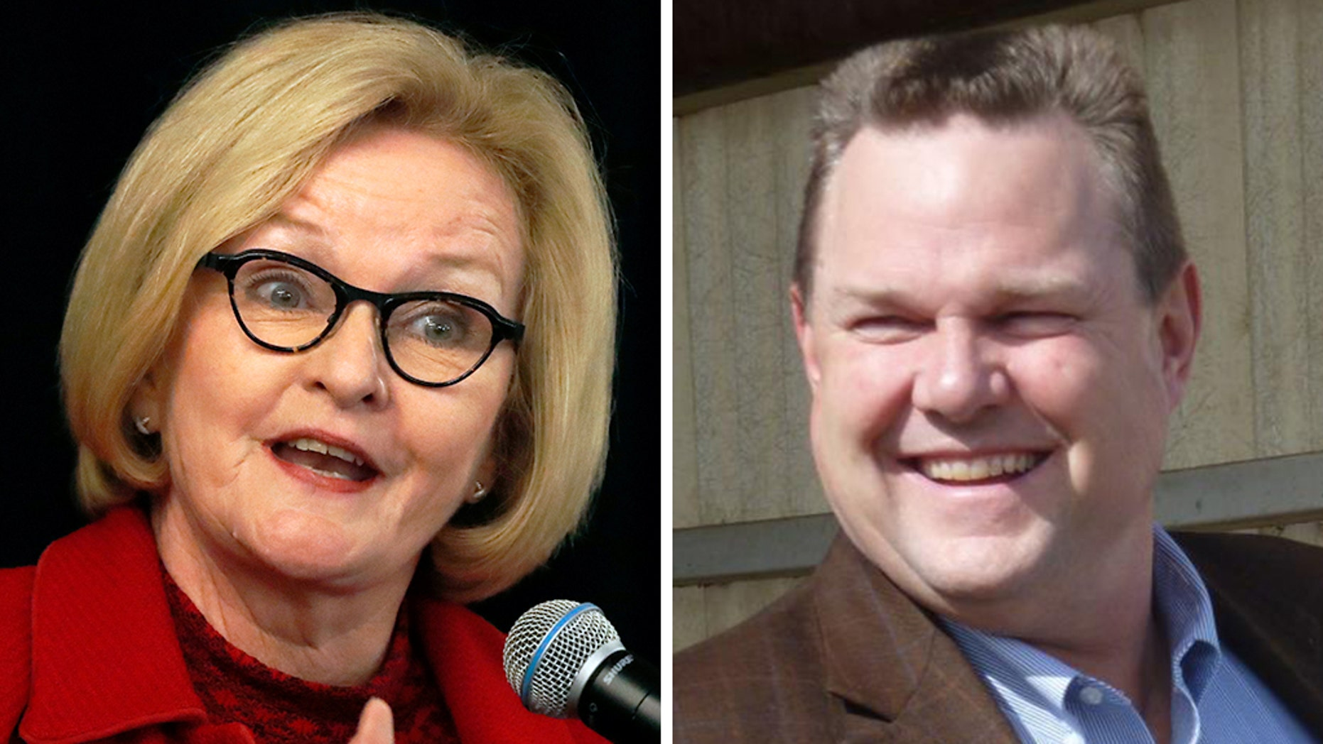Missouri Sen. Claire McCaskill and Montana Sen. Jon Tester are locked in dead heats with their Republican challengers, a new poll finds.