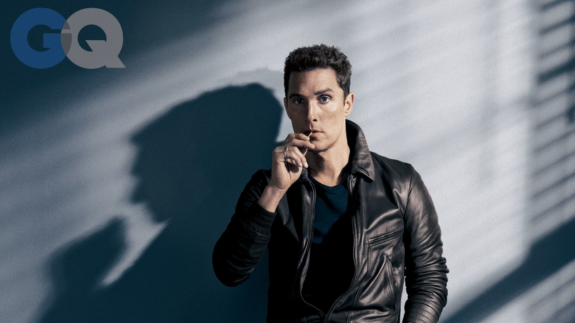 Matthew McConaughey poses for GQ magazine.