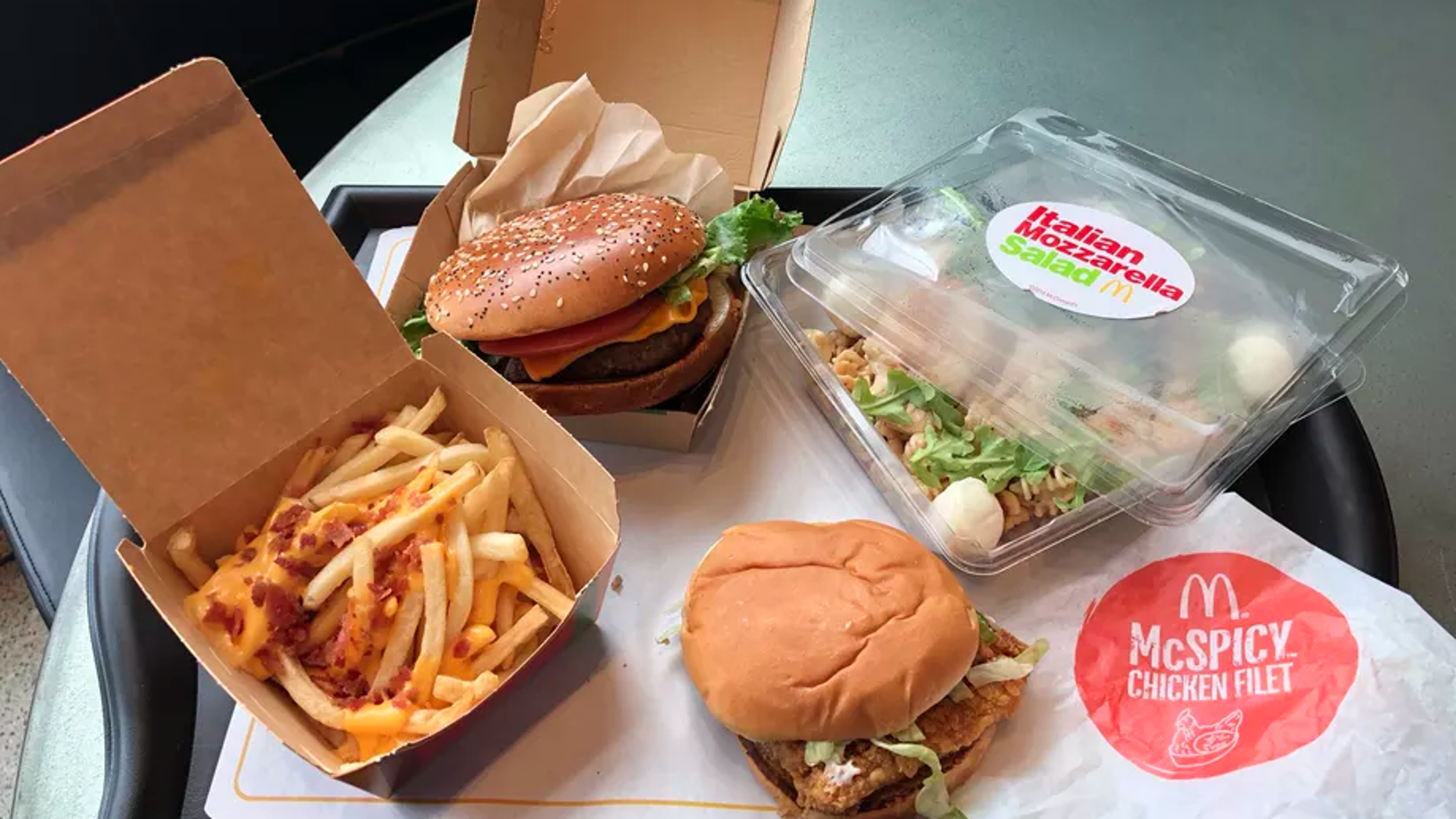 A new McDonald's location will be offering menu items from around the world.