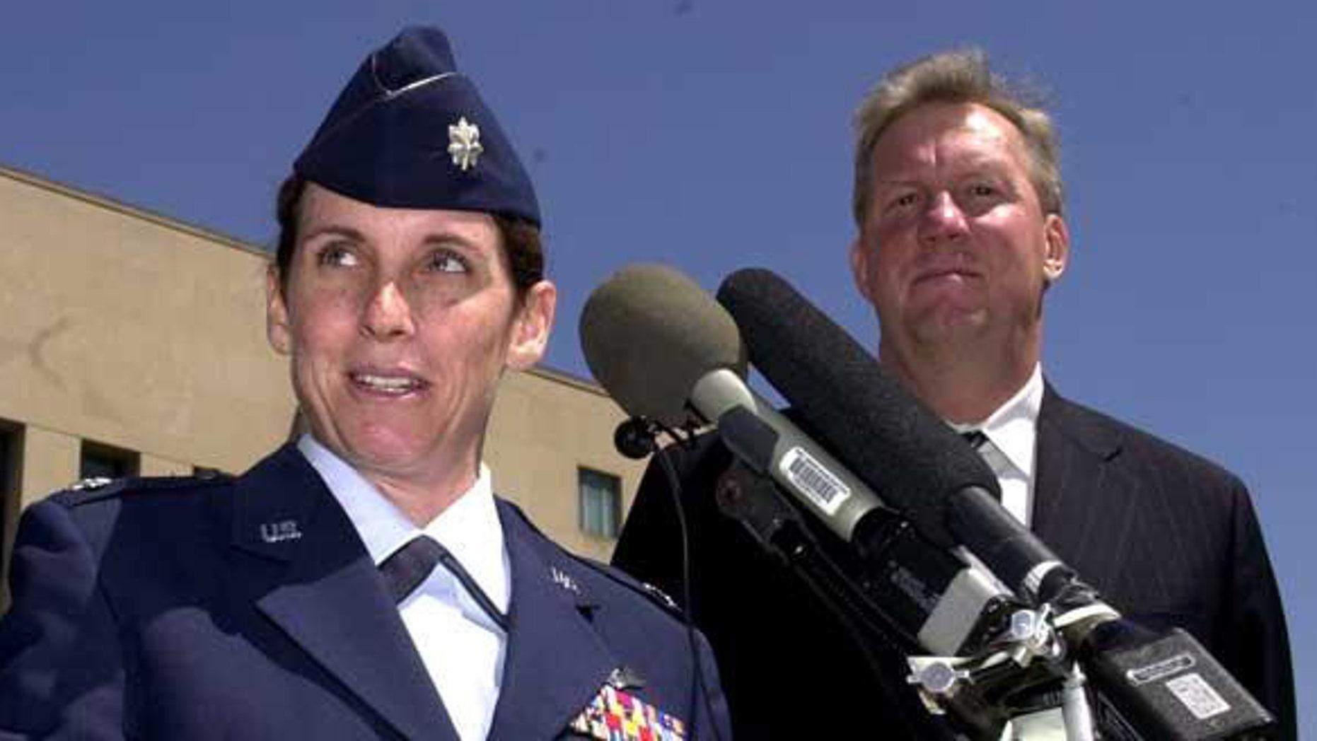 FILE: Updated: Arizona GOP House candidate Martha McSally.