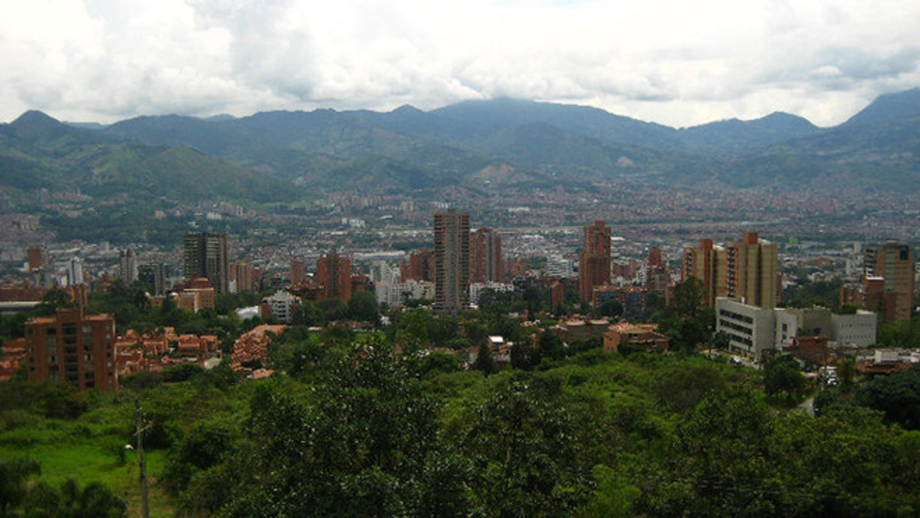 A look at the city of Medellín, Colombia.
