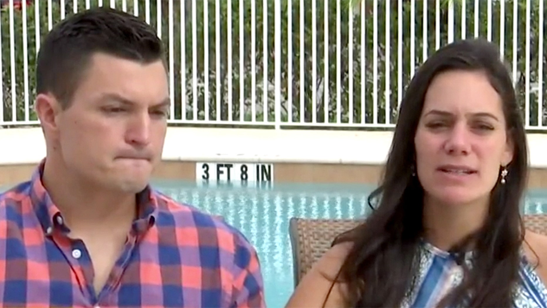 Meghan Davidson and her husband, Matt, said they weren't sure if she would be able to get pregnant again after her injuries.
